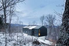 nonconcept:  Bolton Residence, Quebec, Canada by Studio naturehumaine. (Photography: Adrien Williams & David Dworkind)