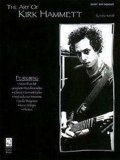 Metallica The Art of Kirk Hammett Sheet Music Guitar Book NEW 002506325