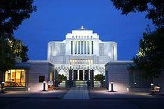 Cardston Alberta Canada LDS Mormon Temple  ( mormon )  The Church of Jesus Christ of Latter Day Saints