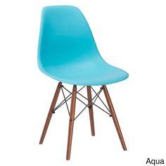 Vortex Walnut Leg Dining Side Chairs (Set of 2) in stock ($135.49)