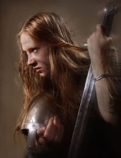 Masha, frontwoman of Arkona (Russian Folk/Pagan Metal band = awesome!!!!)