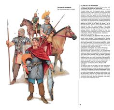 ROMAN: Units serving in Gallic provinces, 1st & 2nd Centuries AD.