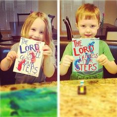 Biblical art projects. What a great way to have Godly talks with the kids while they get their creative juices flowing :)