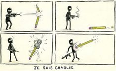 Banksy Charlie Hebdo tribute you're sharing isn't real - CNN The New Yorker, Banksy, Caricatures, Satire, Paris Shooting, Daryl, Charlie Hebdo, Tribute, Expressions