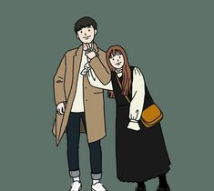Trendy Ideas For Love Art Drawing Couples Cartoon Cute Couple Comics, Couples Comics, Cute Couple Art, Cute Couple Cartoon, Cute Couple Drawings, Cool Drawings, Cover Wattpad, Cute Anime Coupes, Couple Illustration