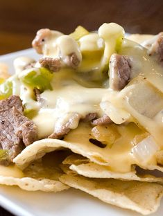 Philly Cheesesteaks and Nachos meet in beautiful, delicious harmony.