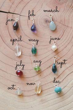 bauble birthstone earrings {mixed metal}   Lisa Leonard Designs