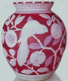 Explore goodboyluke's photos on Flickr. goodboyluke has uploaded 176 photos to Flickr. Art Nouveau, Japanese Vase, Sandblasted Glass, Crystal Glassware, Fenton Glass, Art Object, French Art, Glass Design, Antique Art