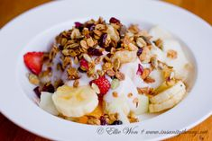 A two-way with muesli | Kitchen Wench