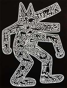 Keith Haring kunst te koop of the huur bij artetc.nl