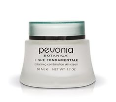 Pevonia Balancing Combination Skin Mask, 1.7 Ounce by Pevonia. $38.00. A perfect balance; Creamy, non-drying, and kaolin based, combination skin mask helps hydrate, brighten, and purify your skin. Your skin is rendered remarkably radiant and perfectly balanced. Wonderfully aromatic, it combines carrot oil, green apple, and vitamins to effectively repair and smooth. Creamy and non-drying, this mask helps to hydrate, brighten, and purify your skin.