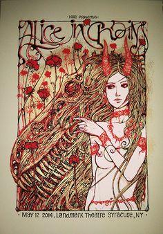 malleus Alice In Chains - Syracuse, NY 2014