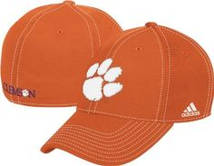 Clemson Tigers adidas Orange Structured Flex Fit Hat sz L/XL by adidas. $15.99. Structured Fit. Flex Fit (L/XL). Embroidered Logos. 84% Nylon / 14% Cotton / 2% Spandex. Cheer on your Tigers in this flex fit cap from adidas!