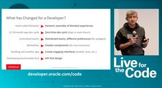 Oracle executives talk about what it takes to make it in the modern application development world