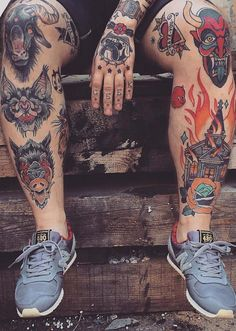Ink addicts is a gallery in which we celebrate the art of tattooing. We are sharing images from across the internet that we have stumbled across or that have been submitted via email. We love the tattoo community and our intentions are to shine more light and acceptance on tattoos. Check out this amazing selection […]:
