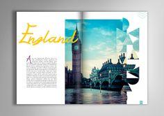 Projeto gráfico e diagramação para livro de turismo Places I'd Like To Go | www.nuvemstudio.com