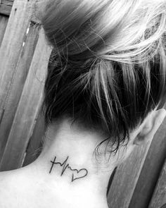 Small neck tattoo faith hope love