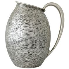 Tane Mexico Modernist Sterling Silver Water Pitcher