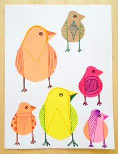 My friend mentioned Charlie Harper--she's right! I love his work!