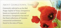 Visit Georgetown Texas!