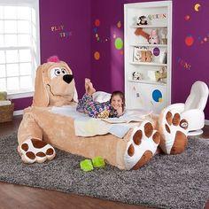 Floppy Dog Twin Single Bed Cover by Incredibeds Kids Mattress Cozy Plush Animal | eBay