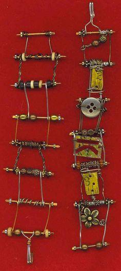 Wire Frame Bracelets
