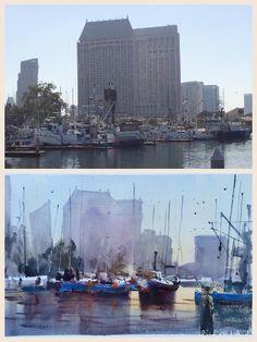 Alvaro Castagnet - San Diego Harbor