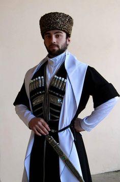 Georgian People georgian men costume of caucasus people north caucasus