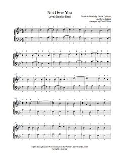 with or without you piano sheet music pdf