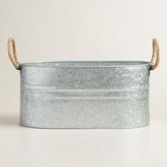 Galvanized Trough Ice Bucket