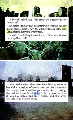 #TMIcitu of bones and city of ashes
