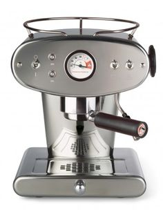 Francis Francis X1 Ground Coffee Machine, Stainless Steel