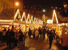 Metz en Francia : Mercado de Navidad