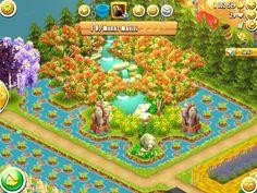 Flower Garden Layouts, Cut Flower Garden, Hay Day App, Hayday Farm Design, Flower Bed Designs, Farm Games, Diy Crystals, Small Backyard Landscaping, Flowers Perennials