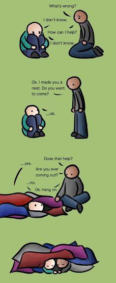 Comment aider une personne déprimée