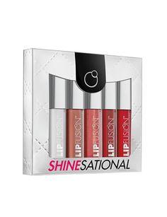 ShineSational Mini LipFusion™  - includes 5 mini size LipFusion™ Micro-Collagen Lip Plump Colorshines: Clear, Bare, Sugar, Crave, Summer