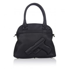Vlieger & Vandam Bags | Guardian Angel Soft Small Gun Black | Amsterdam (((( I WANT THIS PURSE SOOOO BAD!!)))