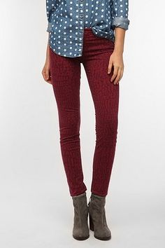 Love the print, and the fact that they are not so offensively RED.