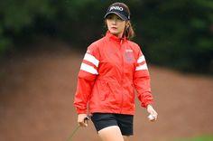 今季5回目となる首位発進!|サントリーレディスオープンゴルフトーナメント 1日目 キムハヌル <Photo:Masterpress/Getty Images>