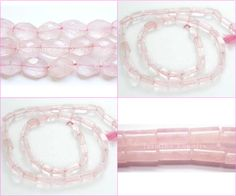 Rose quartz Gemstone Beads - Most Popular of the Quartz Gemstones.  J-beads is extremely specialized in giving excellent quality Rose Quartz beads and jewelry.