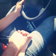 Hold my hand while you drive