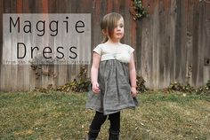 Shwin: The Maggie Dress {from Maggie Mae Pattern} $6.95