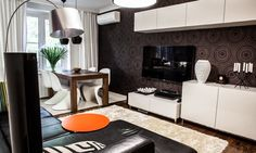 Present Day And Stylish 3-Room Apartment In Reserved European Design Furnished By Ikea And Boconcept