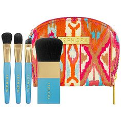 SEPHORA COLLECTION Out of Pocket Beauty Brush Set #Sephora #Travel