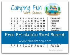 Free Printable Word Search (Linky Party)