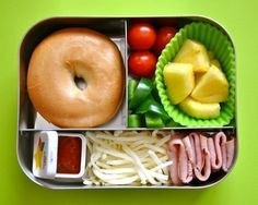 Build Your Own #Bagel #Lunchbox.