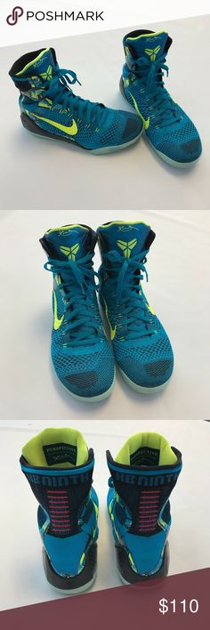 Nike Kobe 9 Elite Perspective Excellent condition Kobe 9 Perspective Basketball Shoes. Extremely clean with light wear. Please view photos carefully! Box not included, sorry! Open to all offers. Nike Shoes Athletic Shoes