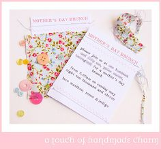 Mother's Day Brunch :: A Touch of Handmade Charm
