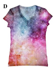 Hey, I found this really awesome Etsy listing at https://www.etsy.com/listing/127463827/woman-galaxy-print-top-t-shirt-and-tank