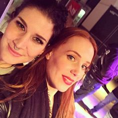 Holy crap. Simone Simons and Charlotte Wessels together. That's just too much...